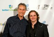 Gershon Yakir with Brian Fanale